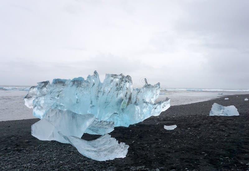 Ghiacciai del ghiaccio immagini stock libere da diritti