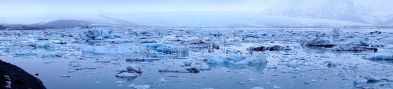 Ghiacciai del ghiaccio fotografia stock