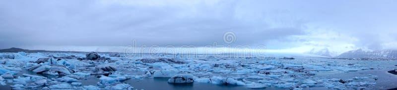 Ghiacciai del ghiaccio fotografia stock libera da diritti