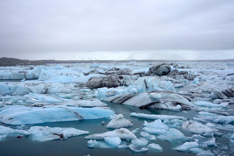 Ghiacciai del ghiaccio immagine stock