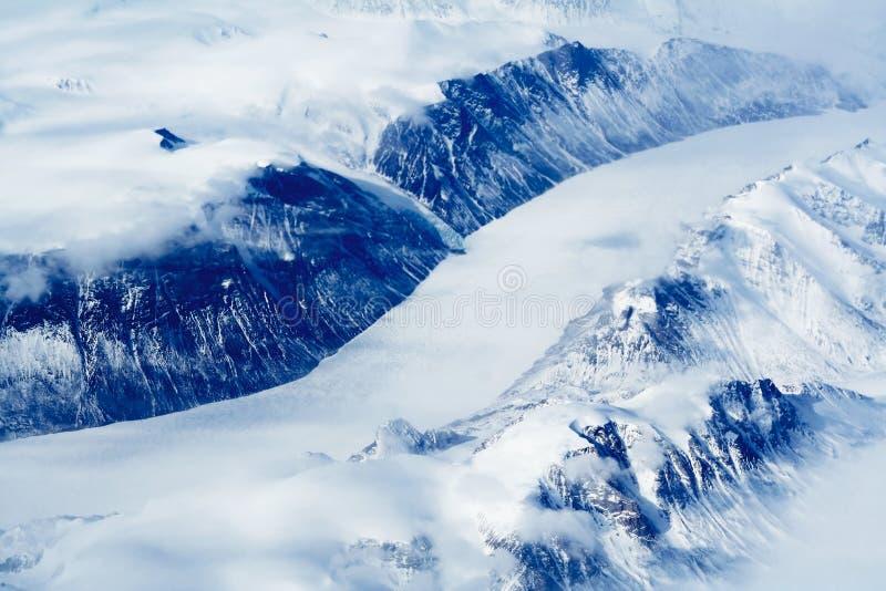 Ghiacciai della Groenlandia immagine stock libera da diritti