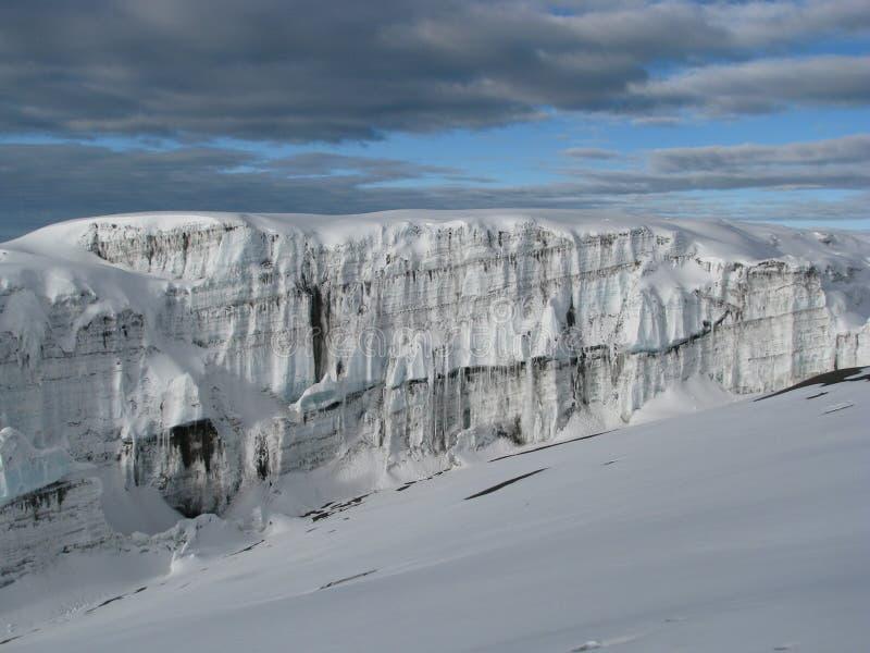 Ghiacciai Di Kilimanjaro Immagini Stock