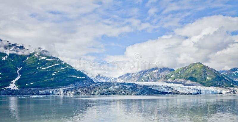 Ghiacciaio Alaska U.S.A. di Hubbard fotografia stock libera da diritti