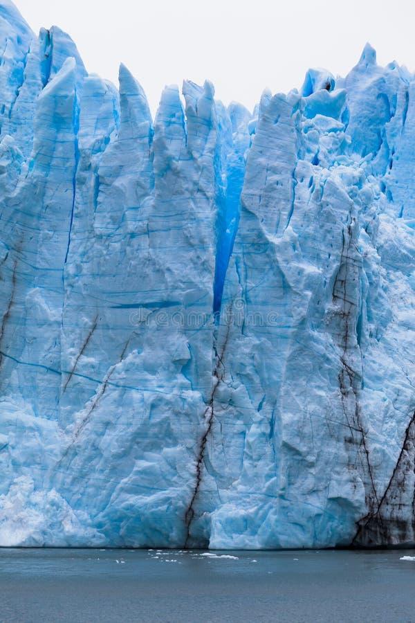 Ghiacciaio Argentina di Perito Moreno fotografia stock