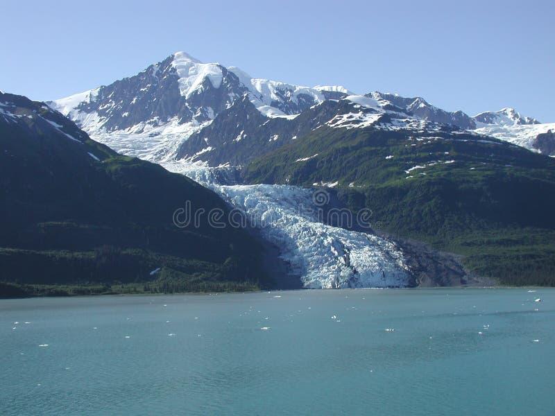 Ghiacciaio d'Alasca fotografie stock libere da diritti