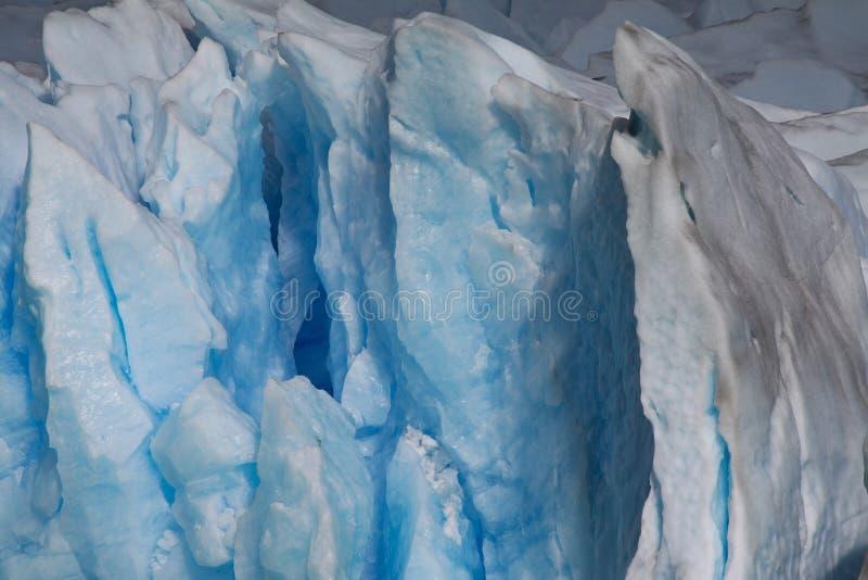Ghiacciaio del cristallo di ghiaccio immagini stock libere da diritti