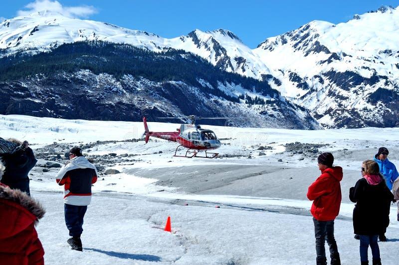 Ghiacciaio di Mendenhall, Juneau fotografie stock libere da diritti
