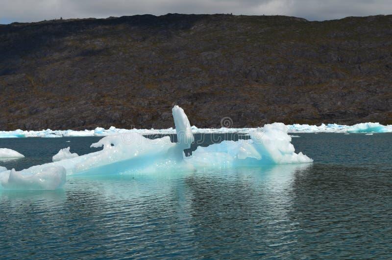 Ghiacciaio di Steffen nel giacimento di ghiaccio patagonian del sud di Campo de Hielo Sur, Patagonia cilena fotografie stock