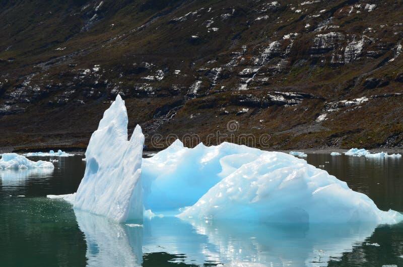 Ghiacciaio di Steffen nel giacimento di ghiaccio patagonian del sud di Campo de Hielo Sur, Patagonia cilena fotografia stock