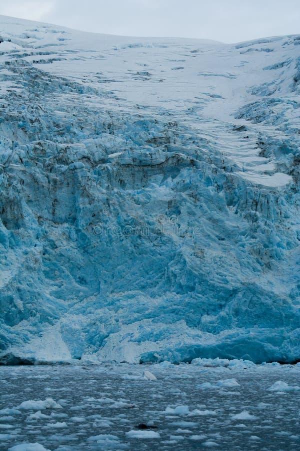 Ghiacciaio nell'Alaska immagine stock libera da diritti