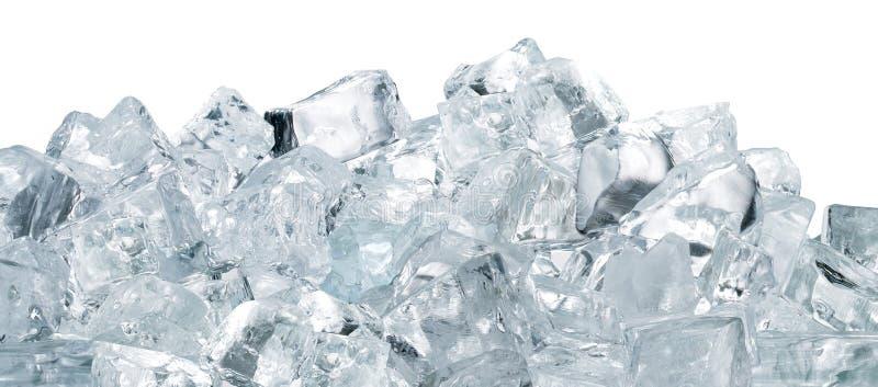 ghiaccio dei cubi fotografie stock libere da diritti