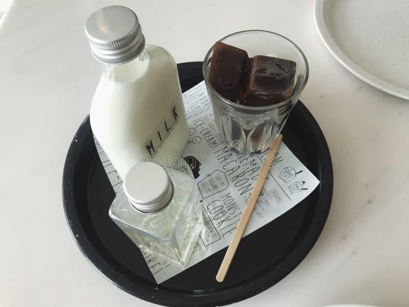 Ghiaccio del caffè fotografia stock libera da diritti