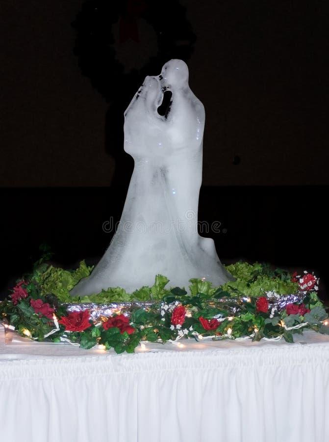 Ghiaccio di cerimonia nuziale fotografia stock libera da diritti