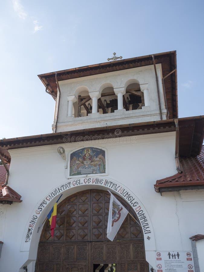 Ghighiu修道院,罗马尼亚 库存图片
