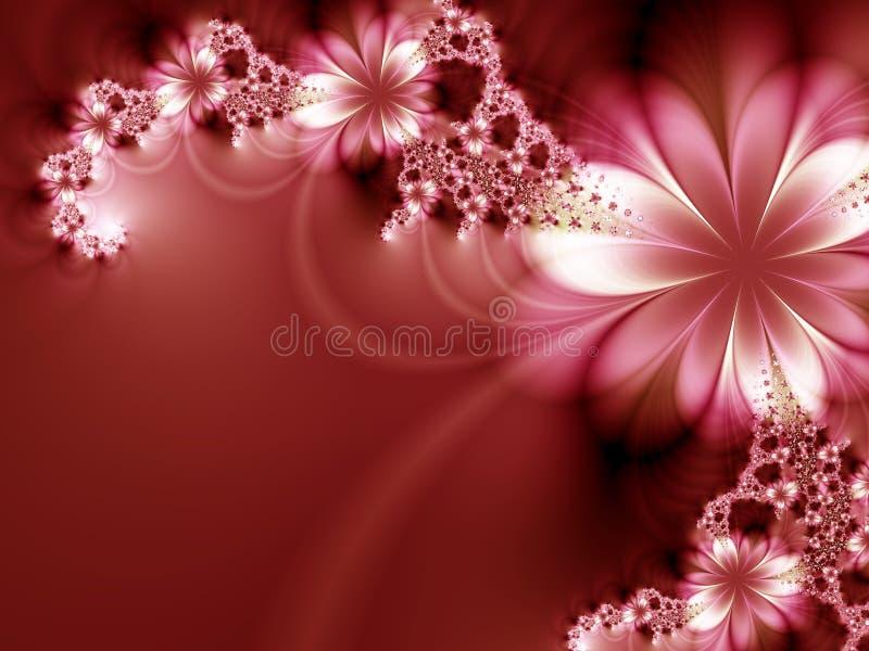 Ghirlanda dei fiori illustrazione di stock