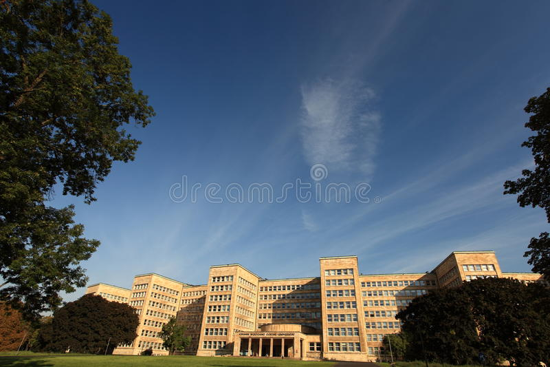 Ghoete University Frankfurt royalty free stock image