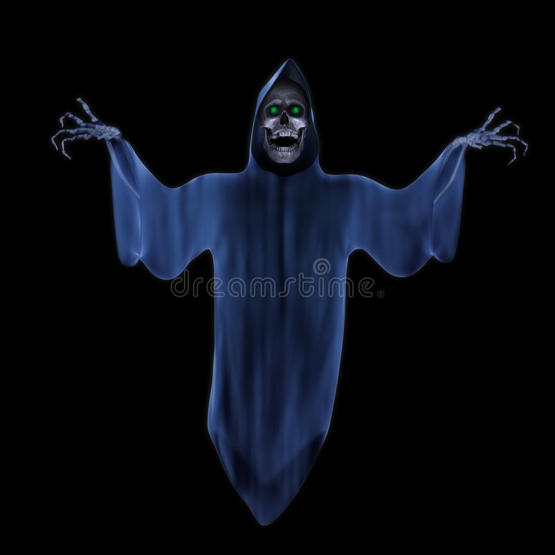 Download Ghost stock illustration. Illustration of phantom, ghost - 7590397