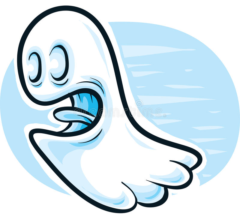 Ghost amical illustration stock