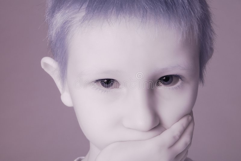 Download Ghost Boy stock photo. Image of male, family, profile - 4162258
