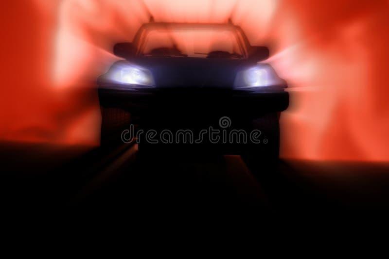 Ghost Car royalty free stock photos
