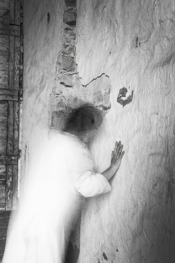 Ghost desaparece imagens de stock royalty free