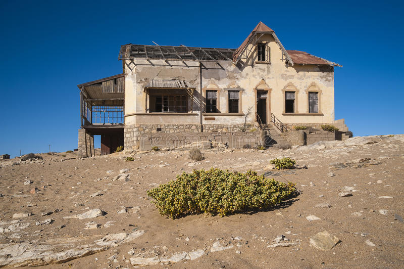 Ghost Diamond Mining Town Kolmanskop Royalty Free Stock Photography