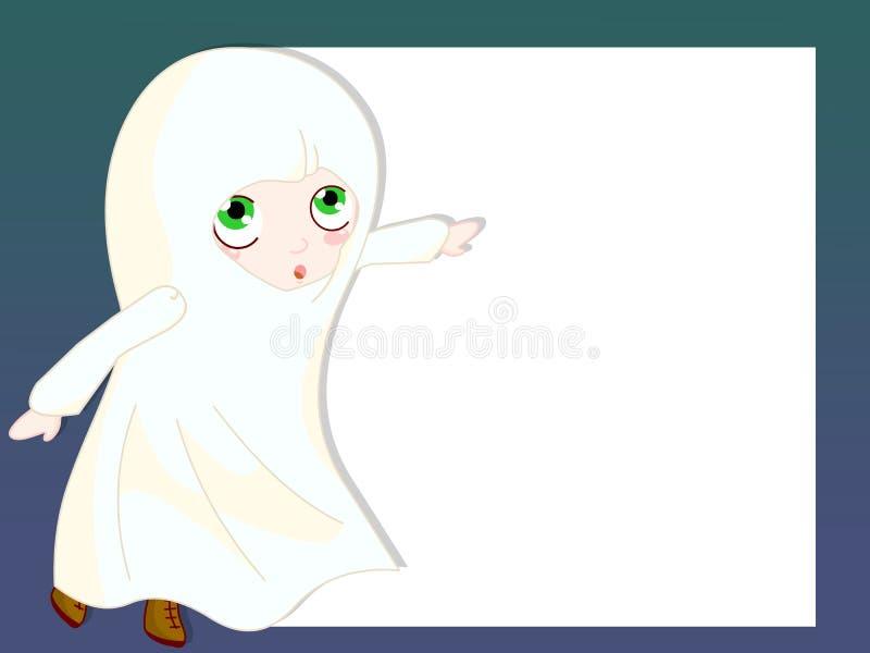 Download Ghost frame stock illustration. Illustration of illustration - 18053958