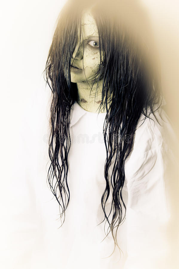 Ghost girl royalty free stock images