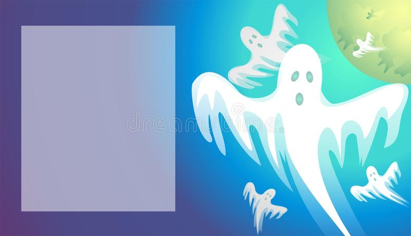 Download Ghost-hour stock illustration. Illustration of suckers - 10693418