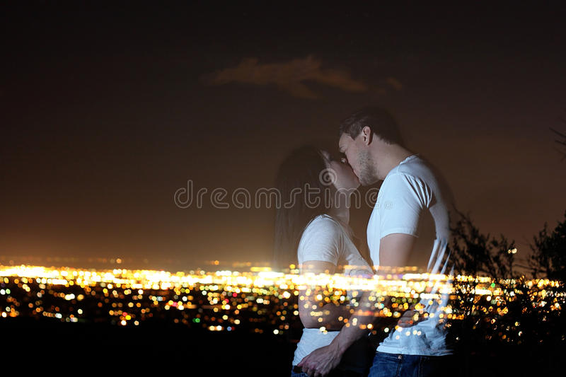 Ghost Lovers royalty free stock photos