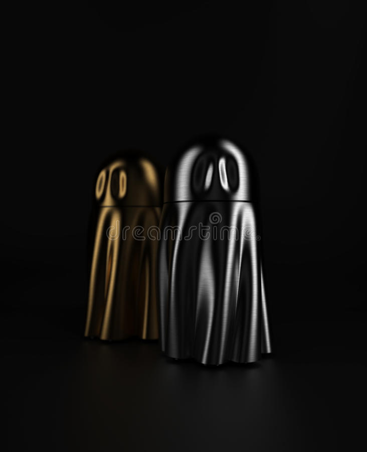 Ghost Metall Stock Image