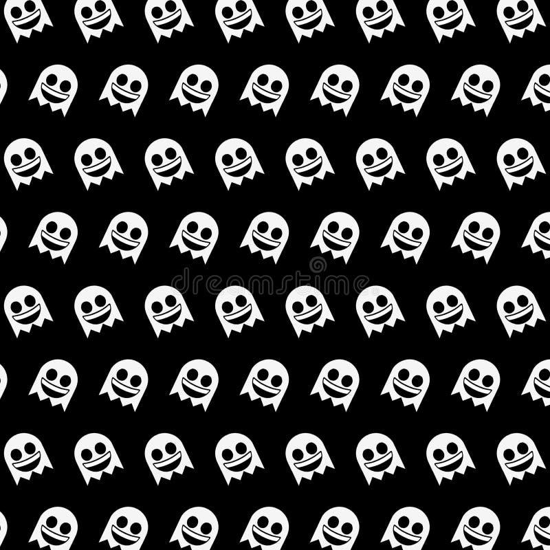 Ghost - modèle 01 d'emoji illustration libre de droits