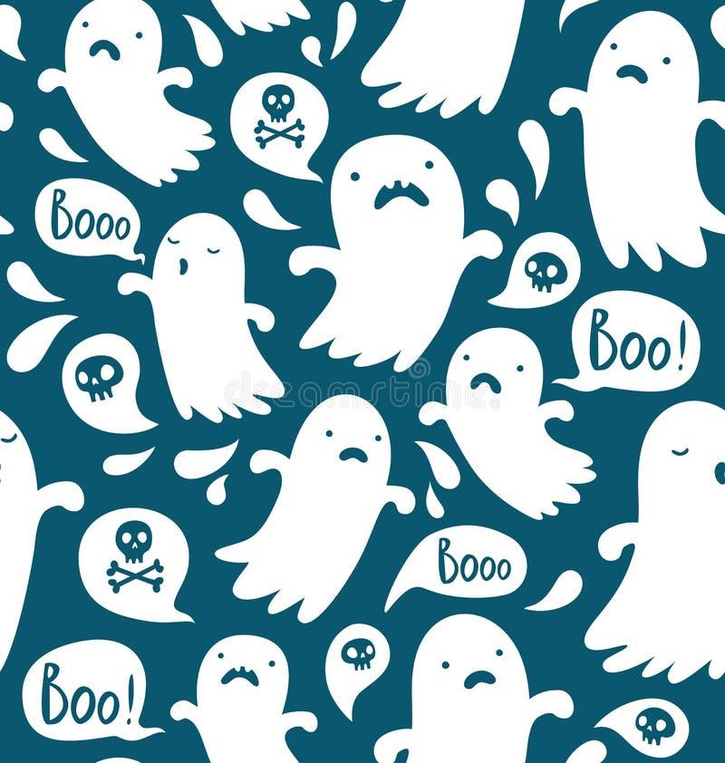 Ghost pattern stock illustration