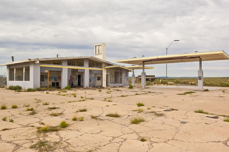 Ghost of Route 66 royalty free stock images