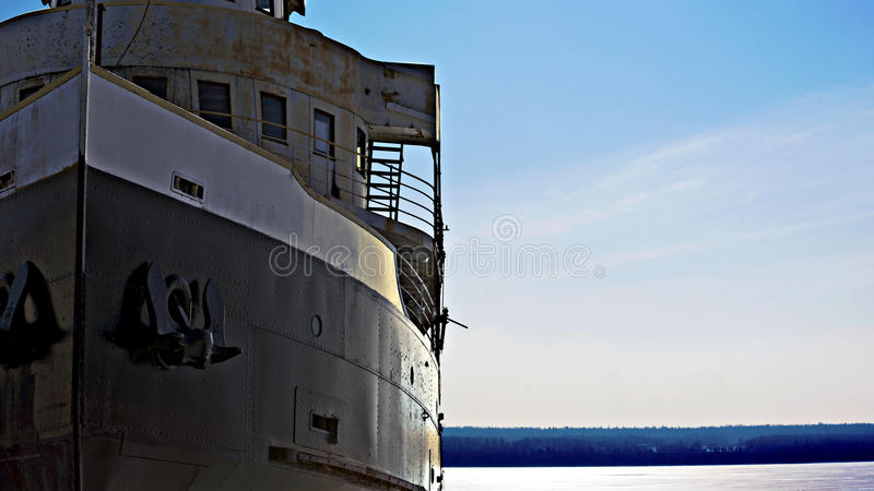 Ghost Ship stock image