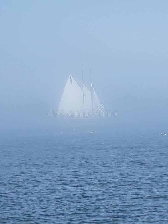Ghost ship 2 stock photography
