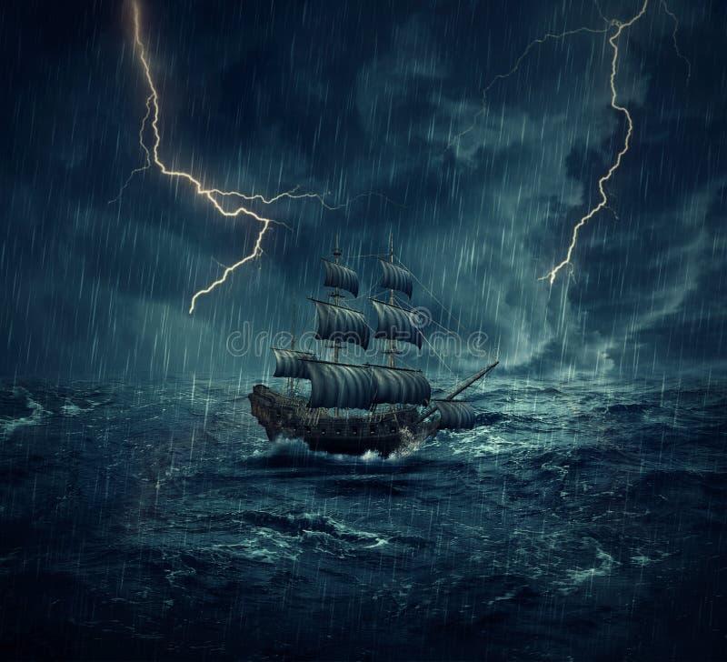 Ghost Ship Stock Illustration Illustration Of Destination