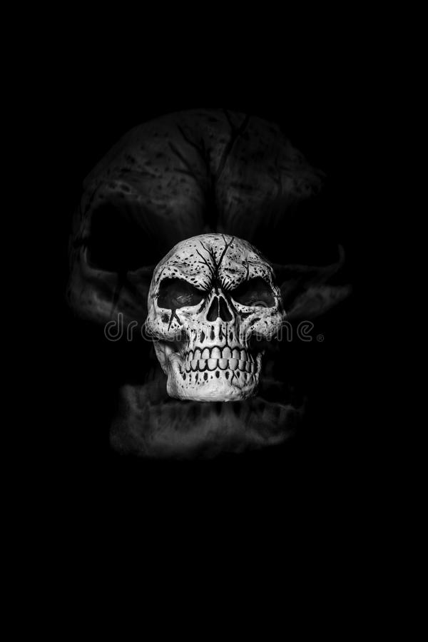 Ghost Skull II royalty free stock images