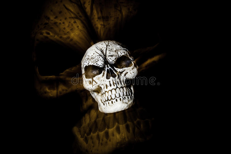 Ghost Skull III royalty free stock images