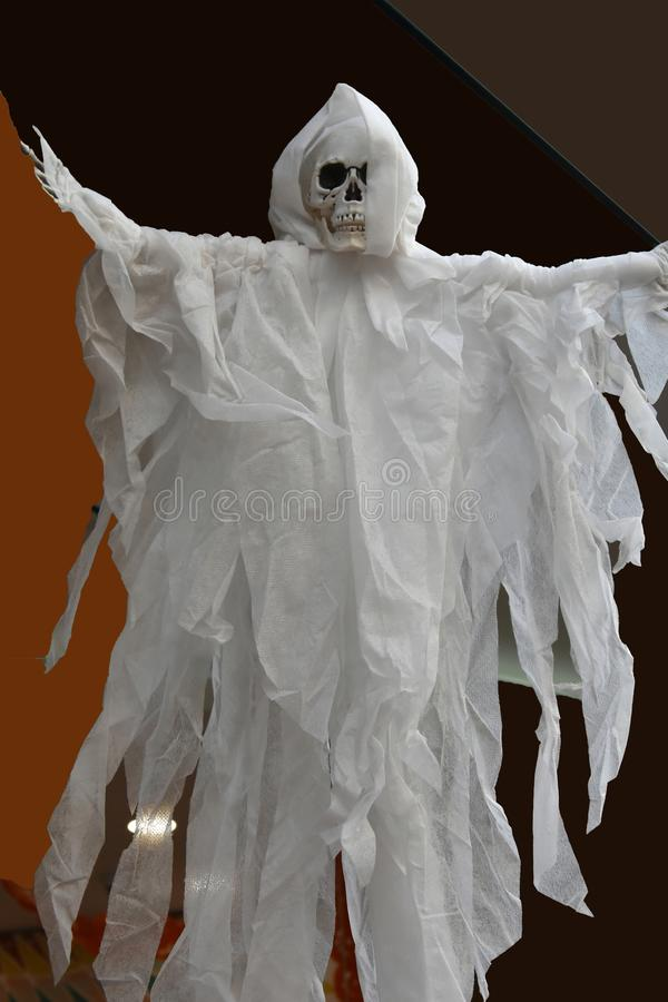 Ghost string puppet stock image