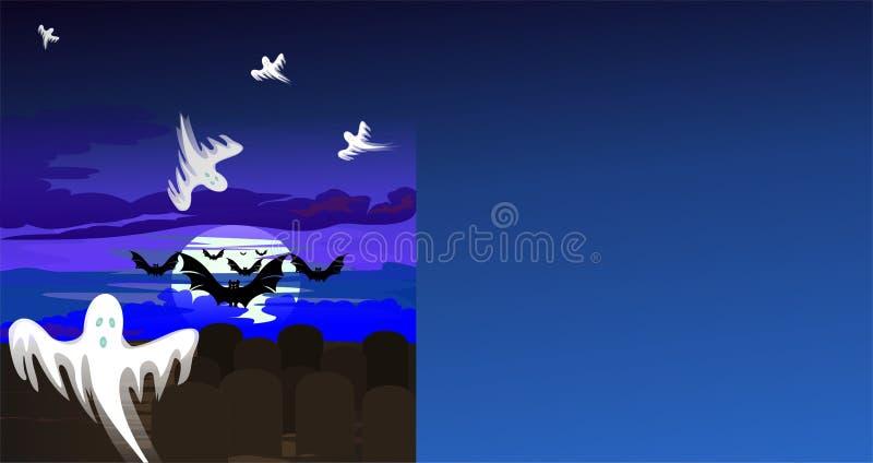 Download Ghost-time stock illustration. Illustration of time, card - 10703644