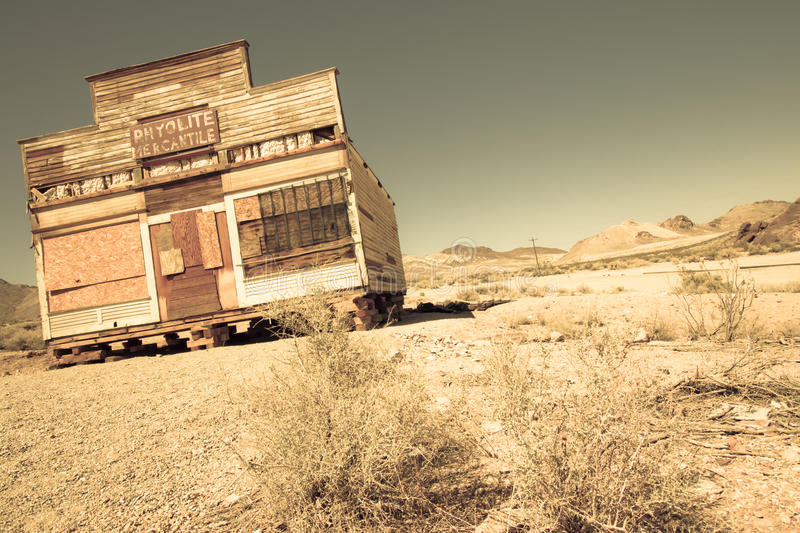 Download Ghost Town stock image. Image of rhyolite, rural, desolation - 25664477