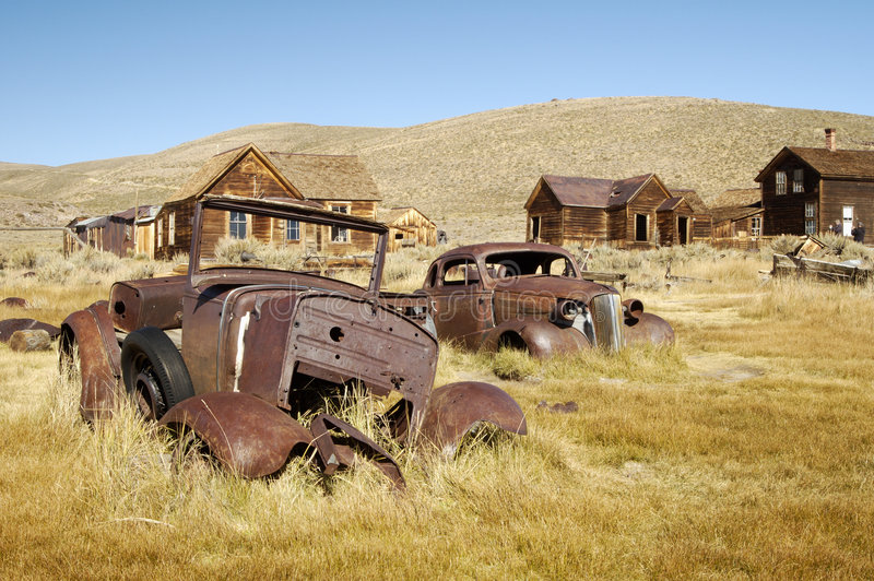 Ghost Town Royalty Free Stock Photo