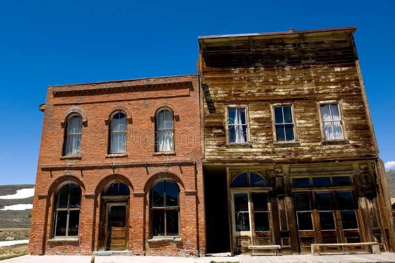 Ghost town royalty free stock photos
