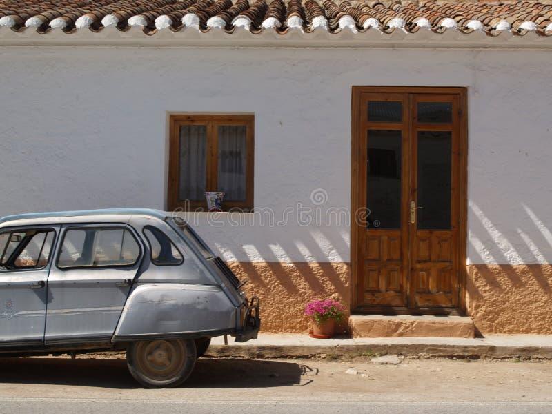 Download Ghost town stock photo. Image of roof, spain, door, rooftiles - 5417622