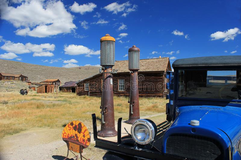 Bodie, Ca. Deserted Mining Town. Ghost town in Bodie, California is a deserted mining town stock photos
