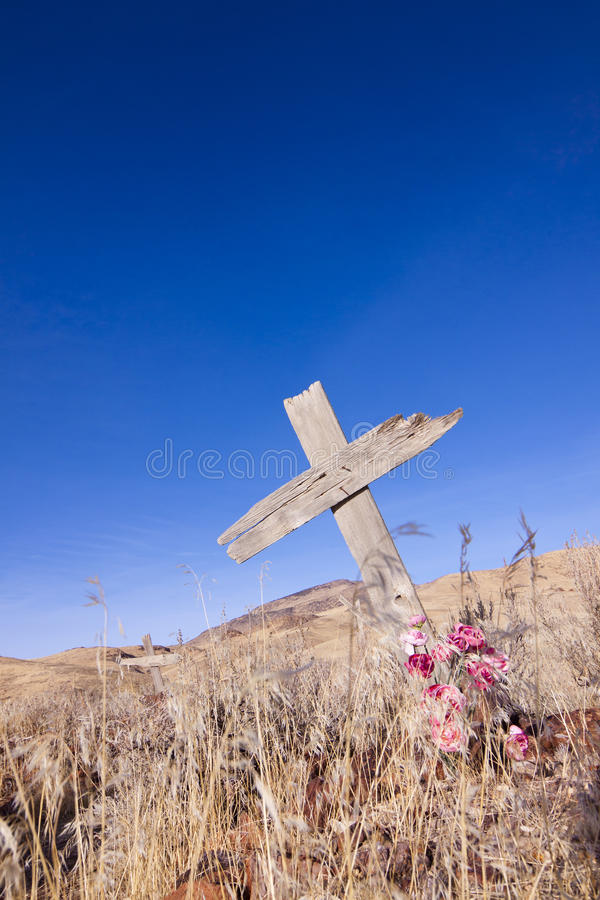 Download Ghost Town Grave stock photo. Image of wood, west, grave - 22760122
