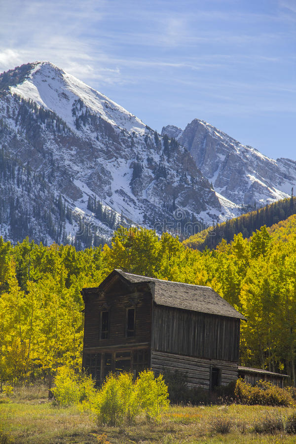 Free Ghost Town In The Autumn Royalty Free Stock Photo - 59517195