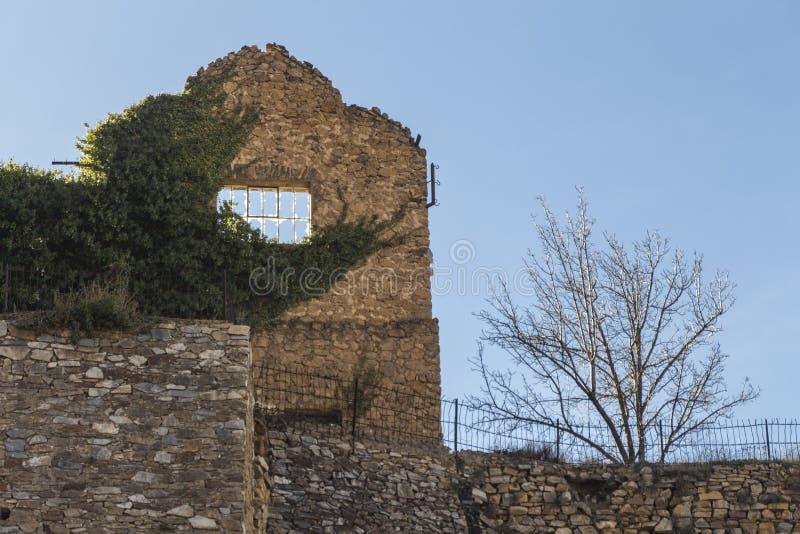 Ghost town of Las Menas of Seron royalty free stock photos