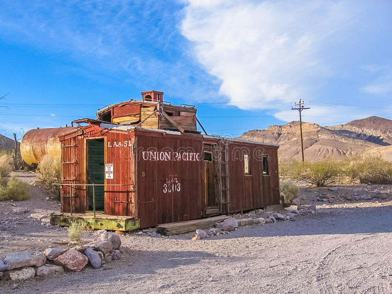 Ghost Town Nevada royalty free stock photography